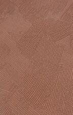 5 Rolls of Wallpaper Brown Chocolate Blown Vinyl Heavyweight Textured 71147