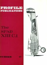 SPAD XIII C.1: PROFILE #17/ 4 NEWLY ADDED A4 PAGES/  NEW-PRINT FACSIMILE ED