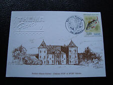 FRANCE - carte 20/9/1997 buthier chateau (cy51) french