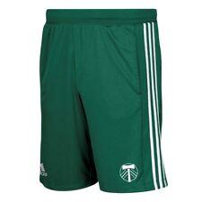 Portland Timbers MLS Adidas Men's Climalite Dark Greeen 3-Stripes Knit Shorts