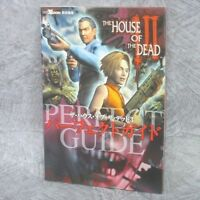 THE HOUSE OF DEAD III 3 Perfect Guide XBox Book 2003 EB96