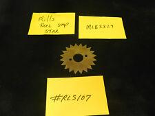 MILLS REPRO REEL STOP STAR FOR MILLS ANTIQUE SLOT MACHINE MLB3329 #RLS107