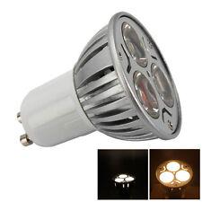 5Pcs 85-265V GU10 3W LED Spot Light Bulb Lamp Spotlight Warmwhite Energy Saving