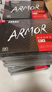 MSI AMD Radeon RX 570 Armor 8GB GDDR5 Graphics Card (RX570 ARMOR 8G OC)brand new