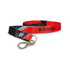 Nuevo Accesorio-Suzuki Genuino-cordón (negro/rojo) - 990F0-MLAN 2-000