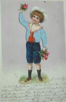"""""""Geburtstag, Kinder, Blumen, Rosen"""" 1906 ♥"""