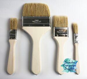 Fibreglass Brushes Disposable for Resin & Gelcoat - 12mm,25mm,50mm,75mm & 100mm