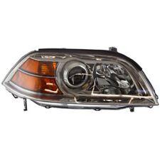 For Acura MDX 04-06, Passenger Side Headlight, Clear Lens
