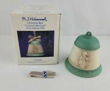 Vintage Mj Hummel First Edition 1993 Christmas Bell Celestial Musician