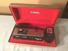 New ListingVintage Canon 110 Ed 20 Camera with Case Canolite Ed Flash & Battery