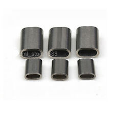 """5/64"""" 304Stainless steel Cable Crimps / Sleeves   2.0mm  20pcs"""