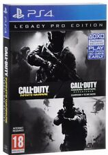 Call of Duty infinie Warfare PS4 Pro nouveau jeu, Dlc, steelbook, cartes, OST + plus