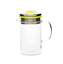 Brew Tea Pot (400ml) - Lime Green - shopcoffeeuk