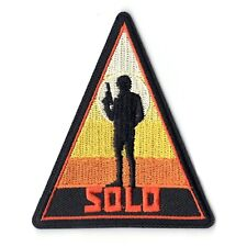 Han Solo A Star Wars Story Sunset Disney Embroidered Iron on Patch