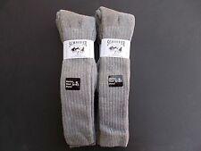 Schaefer Ranchwear Made In USA Merino Wool Blend Over The Calf 4 Pairs Sz 13-16