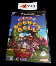 SUPER MONKEY BALL Nintendo GAMECUBE PAL-España NUEVO Precintado NEW Sealed Game