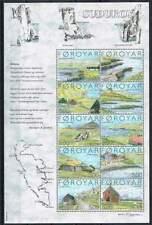 Faeroer/Faroer postfris 2004 MNH vel / sheet 473-482 - Eiland Suduroy (X436)