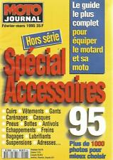 MOTO JOURNAL HS N°9502 SPECIAL ACCESSOIRES : CUIRS - CARENAGES - PNEUS - BAGAGES