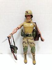 "1996 Rare Hasbro G.I. Joe 12"" Tadur Dusty Action Figure"