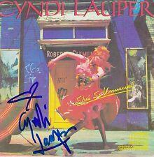 Cyndi Lauper signed She's So Unusual cd