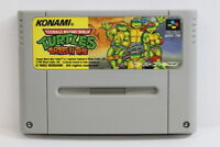 TMNT Ninja Turtles in Time SFC Nintendo Super Famicom SNES Japan Import I5698