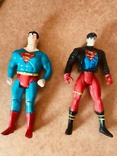Superman and Superboy Action Figures