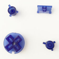 New Replacement Clear Purple Colour Buttons Nintendo Game Boy Pocket GBP Mod