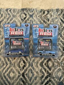 MAISTO ALL STARS 2008 Target Lot 2006 Cadillac STS-V & 1964 Ford Galaxie 500 New