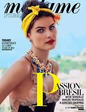 ISABELI FONTANA * BRAZIL SEXY TOP MODEL * GLAMOUR * MODE * Madame Figaro - 2016