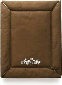 K&H Dog Crate Bed Mat Rip Stop Fabric Chocolate Med/Lrge 1260 denier polyester