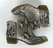 Lucky Brand LK Breah Size 6 Women's Reptile Snake Booties