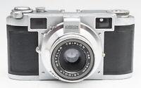 Lordox Sucherkamera Kamera - Leidolf Wetzlar Triplon 2.8 5cm Optik