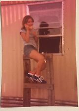 Vintage Photograph Pretty Teenage Girl On The Telephone 1970s
