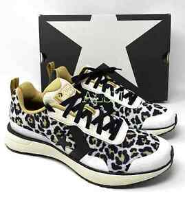 Converse Men's Sneakers Star Series Run Low Top Natural Ivory Leopard 166445С