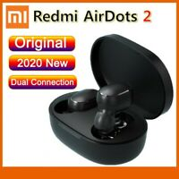 Black Earphone Bluetooth 5.0 Wireless Earbuds Xiaomi Redmi AirDots 2 TWS Music