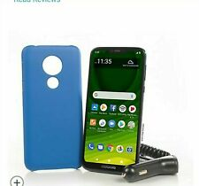 Motorola Moto G7 Optimo Maxx - 32GB -  (TracFone) Prepaid Smartphone BUNDLE!