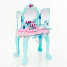 Girls Dressing Table Vanity Mirror Play Set Toy Make Up Desk USA
