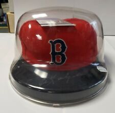 Carl Yastrzemski Signed New Era Boston Red Sox Hat in Case with JSA COA