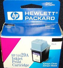 New!•hp 51629A•Black•InkJet Cartridge•DeskJet 600 Series & DeskWriter 600 Series