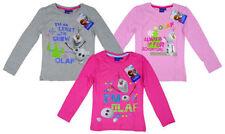 T-shirts et débardeurs gris à manches longues pour fille de 2 à 16 ans