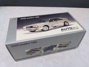 1:18 AUTOART Audi Quattro Coupe 1988 Neu OVP