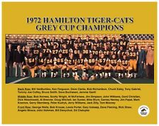 Cfl 1972 Hamilton Tiger Cats Grey Cup Team Picture 8 X 10 Photo Free Shipping