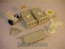 Playmobil 3238 Krankenzimmer Krankenhaus Einrichtung   gebr.