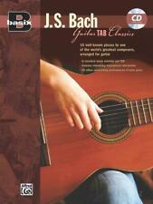 Guitar TAB Classics Antonio Bach Songs Tunes Learn Play Guitar MUSIC BOOK & CD