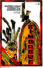 Political OSPAAAL POSTER ZIMBABWE.Tribal.Africa.Socialism Cold War.Guerra Fria21