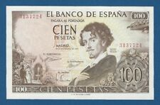 ESPAÑA // SPAIN -- 100 PESETAS ( 1965 )  -- EBC // XF -- SIN SERIE .