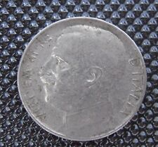 Italie 50 Centesimi 1924 R tranche striée    RARE