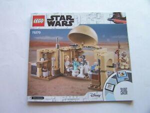 LEGO® Bauanleitung / Instruction Nr. 75270