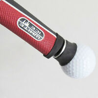 Rubber Screw-on Golf Ball Pick Up Tool Suction Cup for Putter Grip Black