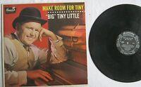 Make Room For Tiny Big Tiny Little LP Brunswick BL54030 VG